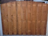 Heavy Duty Pressure Treated Overlay Fence Panels (Excellent Quality)