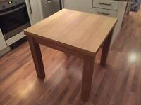 Next Solid Oak 4-6 Seater Dining Table