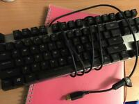 Gaming computer keyboard