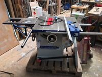 Axminster Industrial Sliding Table Saw