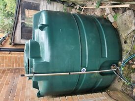 Central heating fuel tank