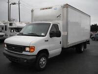 2005 Ford E-350 Super Duty Diesel Dually Cube Van
