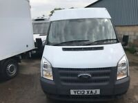 ford transit mwb medium roof.2012.warranted 61k miles with service print.1 owner.
