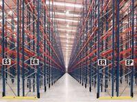 job lot redirack pallet racking 1000 bays available!( storage , shelving )