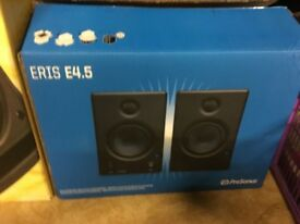 PRESONUS Eris 4.5 STUDIO MONITOR SPEAKERS.