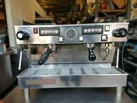 LA MARZOCCO LINEA 2 GROUP COFFEE ESPRESSO MACHINE WITH PUMP, FILTER AND HANDLES