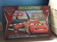 Scalextric disney Pixar cars/world Grand Prix edition