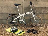 sturdy Dutch folding bike brand; HEMA
