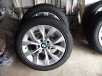 Genuine BMW X1 Alloy Winter wheels/tyres