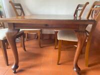 Edwardian (Brown Furniture) Extending Dining Table