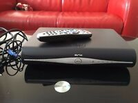 Sky+ HD box for sale with remote - Almost new - £20