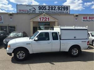 2011 Ford Ranger XLT, 4x4 with Box Cap, WE APPROVE ALL CREDIT
