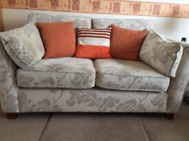 2x 2 seater Marks and Spencer Settees