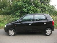 ONLY £30 A YEAR ROAD TAX SUZUKI ALTO 5 DOOR 1 OWNER FROM NEW