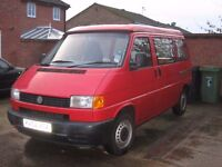 gorgeous little VW T4 Campervan (red), 2002, 107k miles