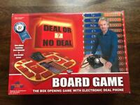 Deal or No Deal Board Game.