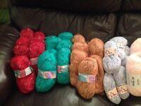 Craft box and knitting wool
