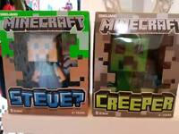 Large Minecraft Figures