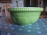 Mason cash green apple 29cm bowl