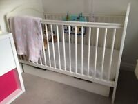 White cotbed from Mamas & Papas