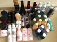 L'Oréal job lot hair products 50 items