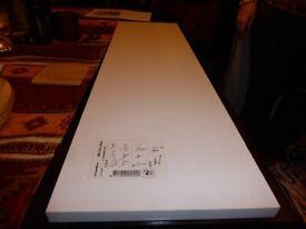 IKEA Paneel white gloss shelf