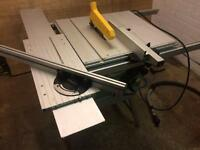 Electra beckum table saw