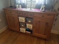 Sideboard / Cupboard / Drawers - IKEA STORNAS Antique Stain Excellent Condition