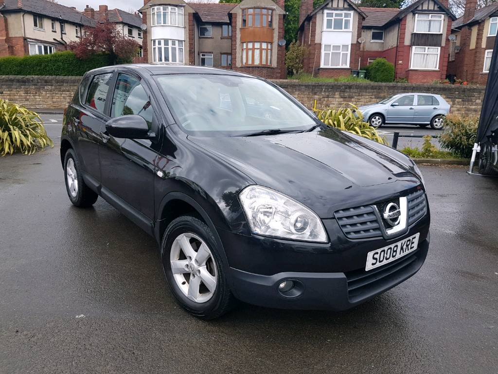 2008 nissan qashqai 2 0 dci acenta 2wd manual black long mot f s h hpi clear towbar in. Black Bedroom Furniture Sets. Home Design Ideas