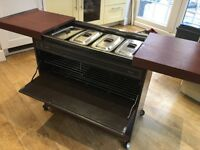 Hostess Trolley heated