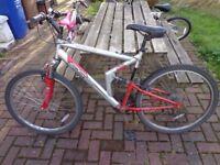 Apollo FS26 Mountain Bike with Full Suspension