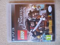PS3 Lego Pirates of the Carribbean Game