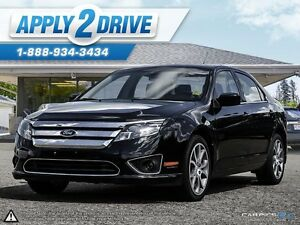 2011 Ford Fusion Sporty Black Beauty Check it out!