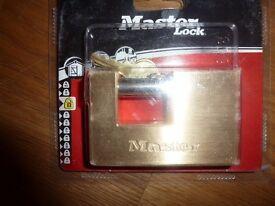 HEAVY DUTY brass Padlock (masterlock) Brand new