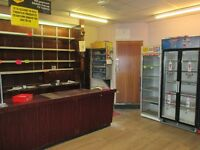 *LOCK UP SHOP TO LET*PREVIOUSLY AN OFF LICENSE*OFF STREET PARKING*APPROX 900 SQ/FT*HILLWOOD ROAD