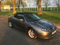 Low mileage MG convertible - great for the summer