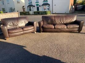 Natuzzi sofa suite + Free Delivery