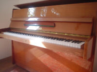 Bluthner Upright Piano late 60s upright Golden Tone Cherry Case