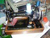 Singer 99k SEMI-INDUSTRIAL Handcrank Sewing Machine