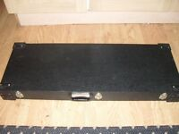 Guitar case that's in very good condition.
