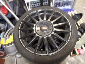 ST170 alloy wheels/tyres& center caps