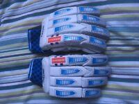 Left Handed Batting Gloves Gray-Nicolls