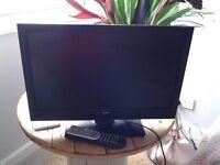 24 inch Bush TV/DVD Combi - full working order