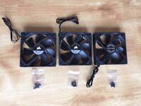 PC Case Fans x 3 (Corsair, Phanteks)