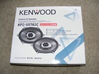 Kenwood KFC-S5782C car speakers
