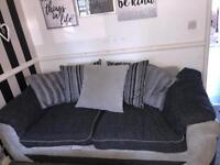 6 month old two seater sofa REDUCED NEED GONE