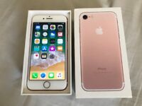 iPhone 7 128gb unlocked. Excellent condition. Original box £320 NO OFFERS. CAN DELIVER