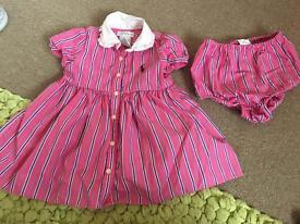 Ralph Lauren 6 Months dress set