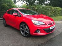 16 plate Vauxhall Astra GTC LIMITED EDITION Petrol red Manual Cat C repaired *immaculate*