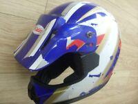 Kylin Motocross / Motorcross Helmet - Motorcycle / Motorbike : Size M : 7 1/8 - 7 1/4